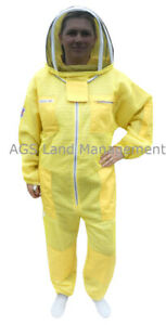 🐝Three layer ultra ventilated Yellow beekeeping suit professional bee suit