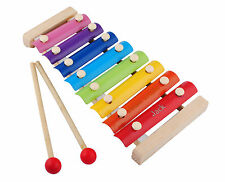 Personalised Engraved Wooden 8 Notes Xylophone Kids Glockenspil Music Talent toy