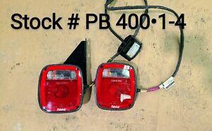 NEW Peterbilt OEM Jumper Taillights Set w/License Plate Light