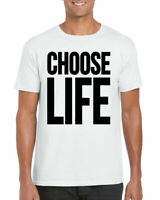 Choose Life T-Shirt, Wham Cult Retro 80s Fancy Dress Gift Unisex Adults Top