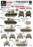 35-884 Israeli AFVs #3. M1 Sherman and AMX 13/75