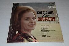 Goldie Hill Sings Country~Vocalion VL 73831~Decca Records~FAST SHIPPING