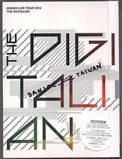 Arashi: Live Tour 2014 - The Digitalian (2015) 3-DVD & 44p BOOKLET TAIWAN