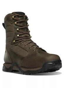 "DANNER® PRONGHORN 8"" BROWN WATERPROOF HUNT BOOTS 41340 Size 9"
