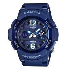 Casio Baby-G * BGA210-2B2 Dual Dial Blue Navy Anadigi COD PayPal