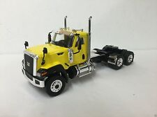 CAT CT680 3 axle day cab only           Cab Color: yellow