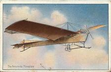Postcard Tuck's Aviation Series 406 Antoinette Monoplane Embossed 1911