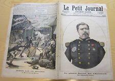 le petit journal 1891 n 43 général davout incendie ménagerie montceau les mines
