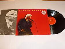 ALICIA BRIDGES Play It As It Lays (1979 UK 9-track Vinyl LP