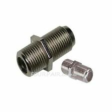 F Type Coax Coaxial Cable Coupler Female Jack Adapter Connector - 5 Pack Lot