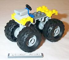 Lego Balloon Tire Wheel Monster Truck Chassis 8182 Airplane Landing Gear