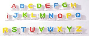 """Leap Frog Fridge Phonics Replacement Magnetic CAPITAL Individual Letters  1 3/4"""""""