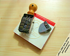 1980 DATE STAMP PENCIL SHARPENER OFFICE CZECHOSLOVAKIA LOT
