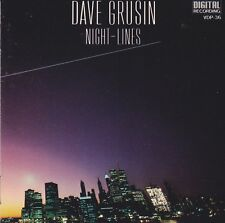 Night-Lines by Dave Grusin (CD, 1984, Japan Victor/GRP) GOOD CONDITION FREE S&H