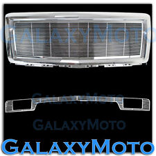 14-15 Chevy Silverado 1500 Chrome Billet Grille+Bumper w/Tow+Replacement+Shell