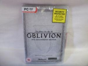 The Elder Scrolls IV: Oblivion - 5th Anniversary Edition (PC CD) Factory Sealed