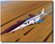 Lakebed Liftoff by Mike Machat - Douglas X-3 Stiletto - Pete Everest- Aviation