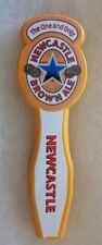 SMALL WOODEN NEWCASTLE BROWN ALE BEER TAP HANDLE