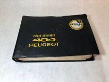 Peugeot 404 Spare Parts Illistrated Catalog Original 1964
