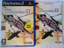PS2 PS3 RADIO HELICOPTER II PLAYSTATION 2 RADIO HELICOPTER 2 PS2