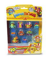 SUPERTHINGS RIVALS OF KABOOM SPY SERIES - 10 Figurine Pack 1 Super Limited
