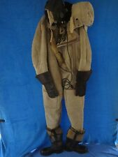 SUPER RARE ORIGINAL GERMAN WW2 ARCTIC LUFTWAFFE PILOT`S COMPLETE WINTER SUIT