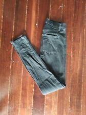 Nobody Womens High Rise Skinny Leg Denim Jeans - Size 24 FREE SHIPPING