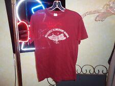 New listing 80s S/M Vtg Roosevelt Elementary School Eagles single stitch soft thin t-shirt