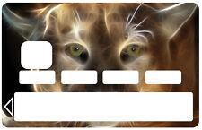 Stickers Autocollant Skin Carte bancaire CB Lynx réf 1069