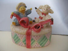 San Francisco Music Box Co. Trinket Box - Duck & Lamb