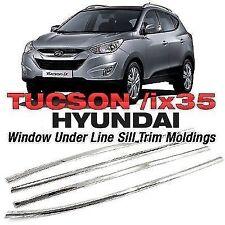 Window Chrome Under Line Sill Trim Molding 4P for HYUNDAI 2010-2015 Tucson ix35