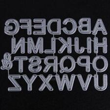 26pcs Carbon Steel Letters Cutting Dies Stencils DIY Scrapbooking Photo Decor