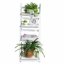 Ladder Solid Wood Bookcases Furniture