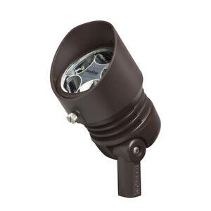 Kichler 16006BBR30 10 Degree 12V LED 12 VAC/VDC 6.5W Landscape Accent in 3000K