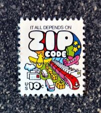 1974USA  #1511  10c Mail Transport Zip Code     Mint  NH