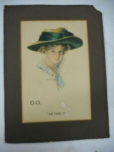 VINTAGE EARLY CALL DOUBLE O ... OO WHISKY ADVERTISING  .. R. FORD HARPER