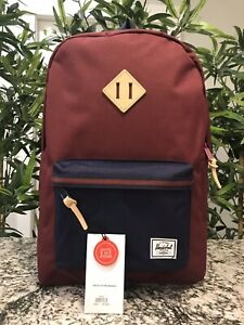 Herschel Heritage 10007 01833 Backpack Wine Premium Bag