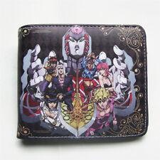 JoJo's Bizarre Adventure Golden Wind Wallet Anime Short Purse Coin Pocket