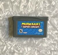 Mario Kart Super Circuit Gameboy Advance VG Cartridge Cleaned & Tested FREE SHIP