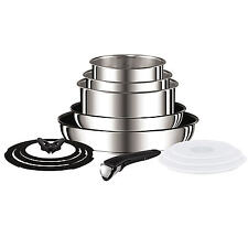 Tefal L9409042 Ingenio 13 Piece Stainless Steel Pan Set Non-stick coating