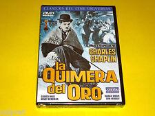 LA QUIMERA DEL ORO / Charles Chaplin - Precintada