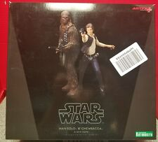 Star Wars: The Force Awakens Han Solo & Chewbacca Figure 1/10 Scale Model Kit