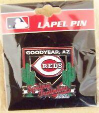 Black 2015 Cincinnati Reds Goodyear, AZ Spring Training  lapel pin Cactus League