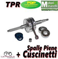 9925910 ALBERO MOTORE + CUSCINETTI TOP TPR SP. PIENE C.39 MINARELLI ORIZZONTALE