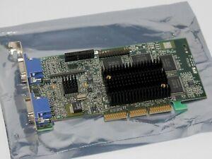 Matrox Millennium G400 DUAL HEAD, 32MB, 128 BIT, AGP 2x/4x, G4-MDH4A32G, WORKING