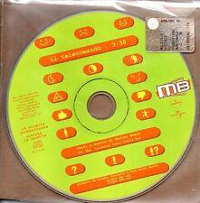 MB (Matteo bassi) Il Telecomando  Cd Single Promo  EX  One Track 2002