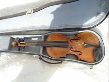 Vecchio violino violino Incendio Timbro Stainer