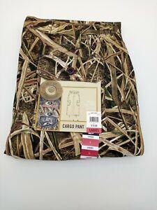 Mossy Oak Mountain Country Camo - Ladies Cargo Pocket Pant -  Side Elastic Sz L