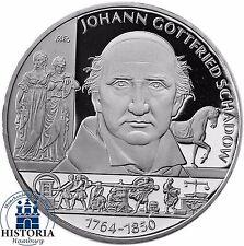 Deutschland Johann Gottfried Schadow 10 Euro PP Silbermünze 2014 Spiegelglanz