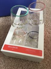 Opalhouse By Target Plastic Cocktail Glasses